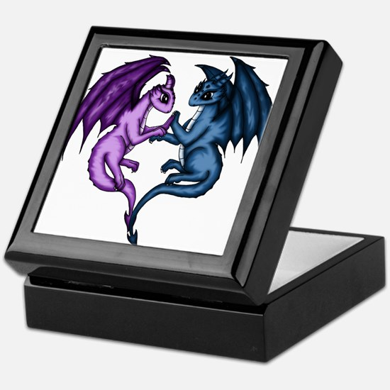 Dragon Couple Keepsake Box