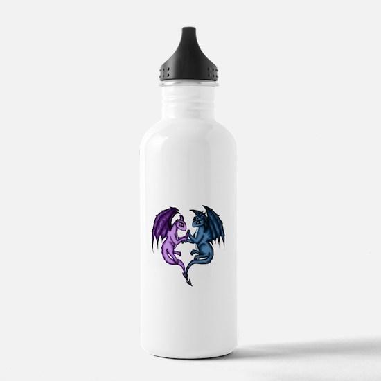 Dragon Couple Water Bottle