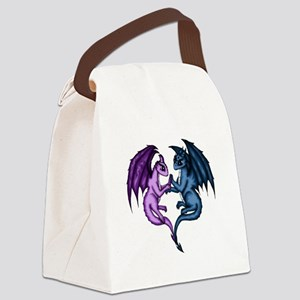 Dragon Couple Canvas Lunch Bag