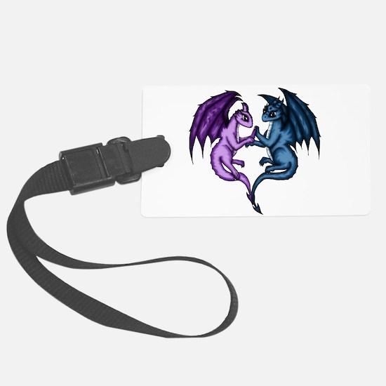Dragon Couple Luggage Tag