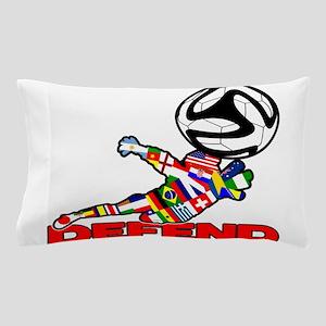 Goalie Defend Pillow Case