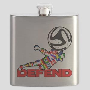 Goalie Defend Flask