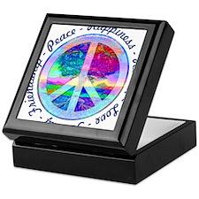 Peace Symbol Keepsake Box
