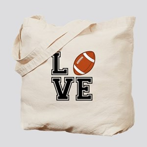Love football Tote Bag