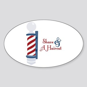 Shave And A Haircut Sticker