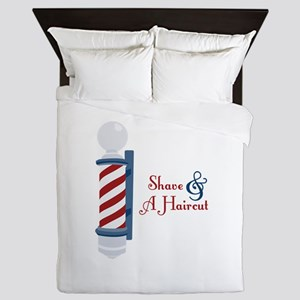 Shave And A Haircut Queen Duvet