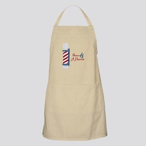 Shave And A Haircut Apron