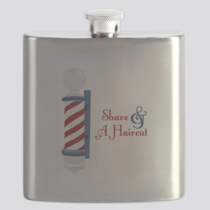 Shave And A Haircut Flask