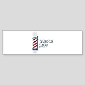 Barber Shop Bumper Sticker