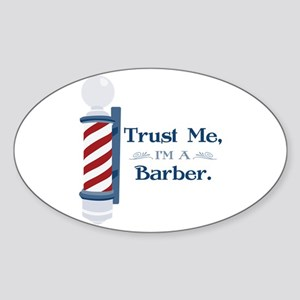 Trust Me Im A Barber Sticker