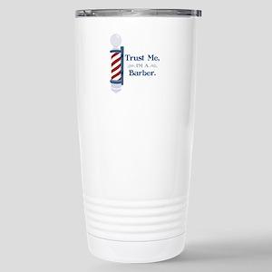 Trust Me Im A Barber Travel Mug