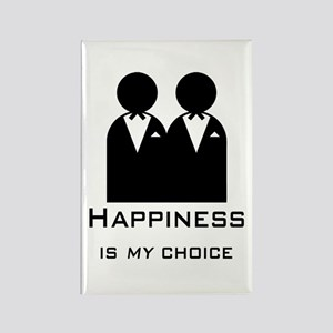Happiness Is My Choice-Groom And Groom-Gay Magnets