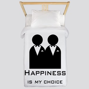 Happiness Is My Choice-Groom And Twin Duvet