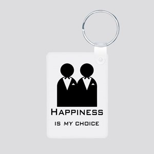 Happiness Is My Choice-Groom And Keychains