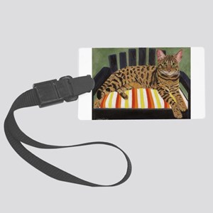 Bengal Cat Luggage Tag
