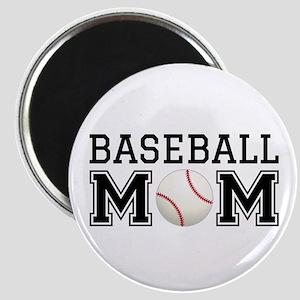 Baseball mom Magnets