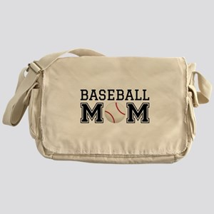 Baseball mom Messenger Bag
