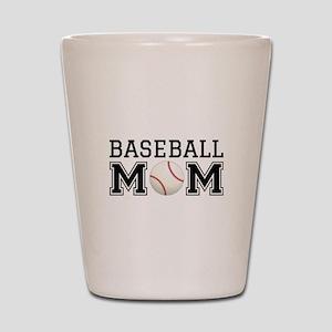 Baseball mom Shot Glass