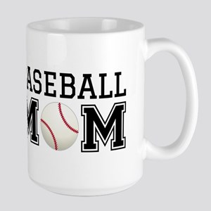 Baseball mom Mugs
