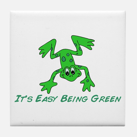 Frog It's Easy Tile Coaster