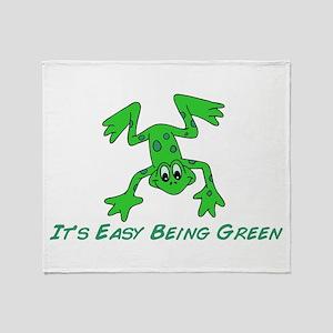 Frog It's Easy Throw Blanket