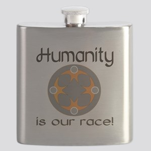 Humanity is Our Race! Flask