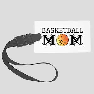 Basketball mom Luggage Tag