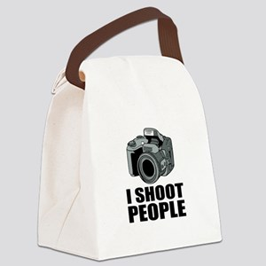 I Shoot People Photography Canvas Lunch Bag