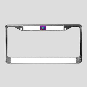 Deep Purple Contrast License Plate Frame