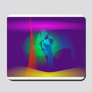 Deep Purple Contrast Mousepad