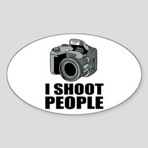 I Shoot People Photography Sticker