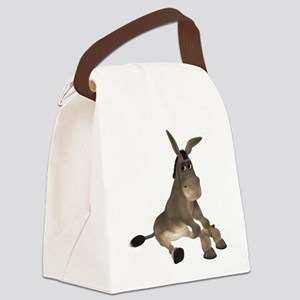 Donkey Canvas Lunch Bag