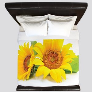 Sunflowers King Duvet