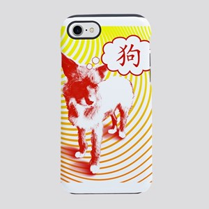 Chinese Dog Character CrazyPups iPhone 7 Tough Cas