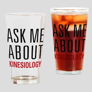Kinesiology Drinking Glass