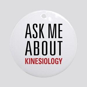 Kinesiology Ornament (Round)