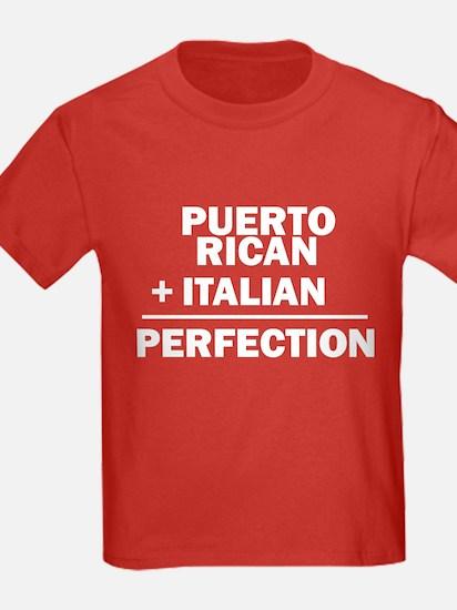 Puerto Rican + Italian T