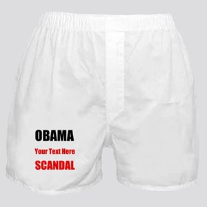 Obama Scandal Boxer Shorts