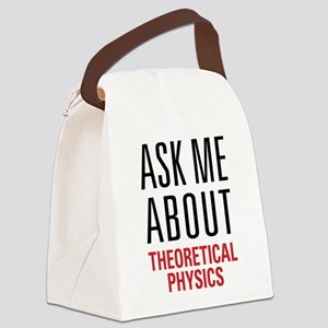 Theoretical Physics Canvas Lunch Bag