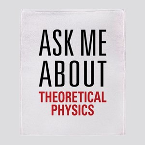 Theoretical Physics Throw Blanket