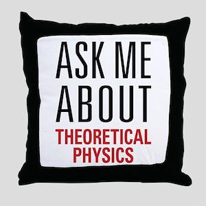 Theoretical Physics Throw Pillow
