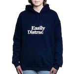 Easily Distracted Women's Hooded Sweatshirt