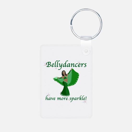 BD green sparkle 8in.png Keychains