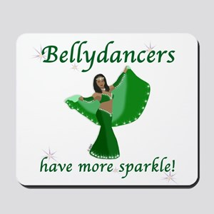 Green Bellydancer Mousepad