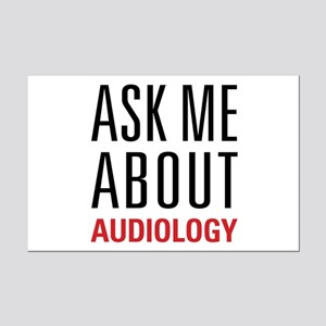 Audiology - Ask Me About - Mini Poster Print