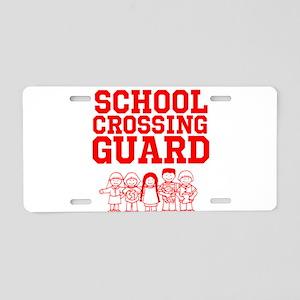 School Crossing Guard Aluminum License Plate