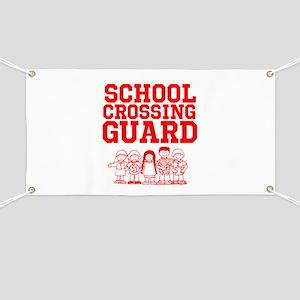 School Crossing Guard Banner