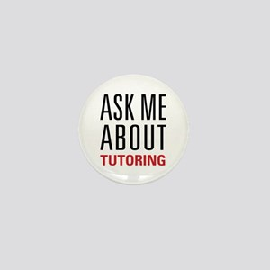 Tutoring - Ask Me - Mini Button