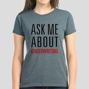Underwriting Women's Dark T-Shirt