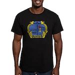 USS GURNARD Men's Fitted T-Shirt (dark)